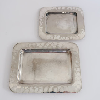 Christian Dior Miniature Tray Pair