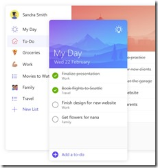 Microsoft To Do List App