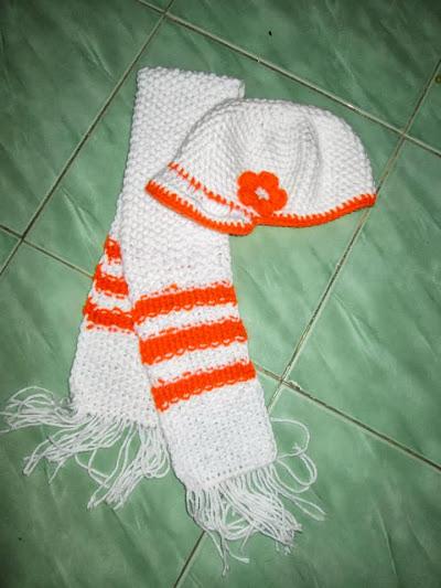 Mũ len đẹp cho bé gái