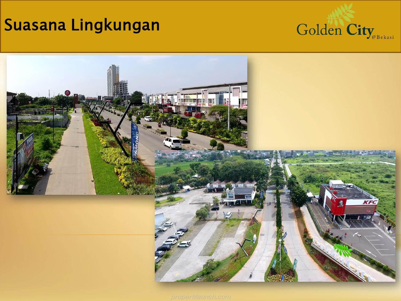 Lingkungan Golden City Bekasi