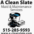 A Clean Slate Maid & Maintenance Services