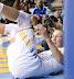 Courtney Vandersloot #22. (WNBA: Chicago Sky 59 v. New York Liberty 64, Allstate Arena, Rosemont, IL., July 6, 2012)