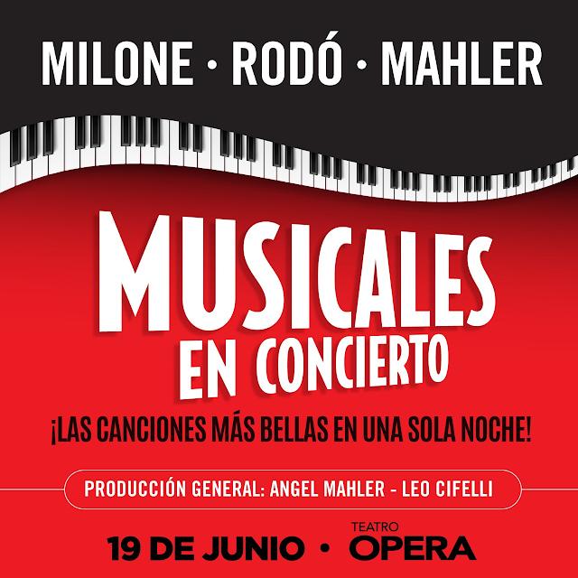 Cambio de Fecha MUSICALES EN CONCIERTO Mahler - Rodó - Milone 19 de Junio Teatro Ópera