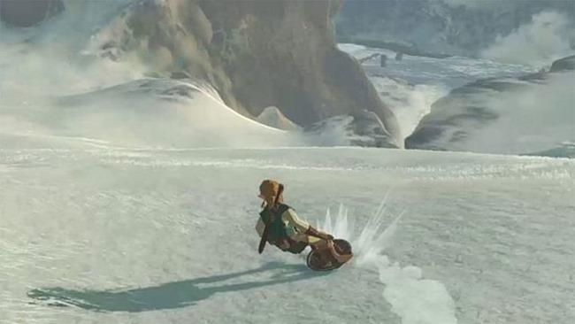 Zelda: Breath of the Wild ? So können Sie auf dem Schild surfen (Guide)