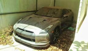 Abandoned Nissan GTR