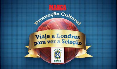 Promoção: Viaje a Londres para ver a Seleção