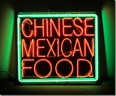 American Melting Pot 1 Chinese Mexican