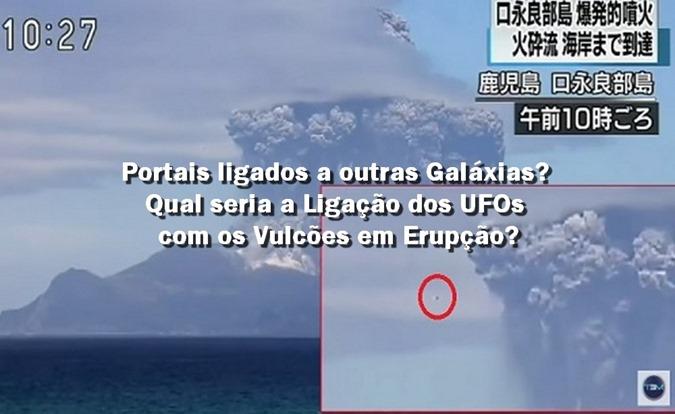 Portais ligados a outras Galáxias Qual seria a Ligação dos UFOs com os Vulcões em Erupção