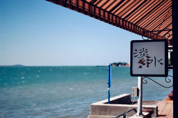 新北淡水長堤LB Cafe,從早到晚美得像首詩的咖啡餐館