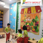 Introduction to Grocery Store for Sr KG Section at Witty World Bangur Nagar (2018-2019)