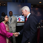 Apne Aap Founder, Ruchira Gupta, accepting Clinton Global Initiative's Global Citizen's Award 2009
