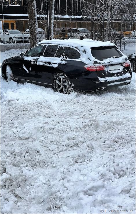 Bakhjulsdrift-Antisladd-Snömodd
