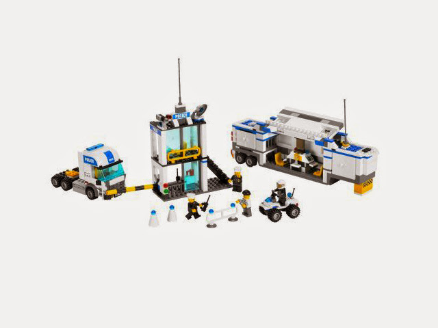 7743 レゴ 警察トラック