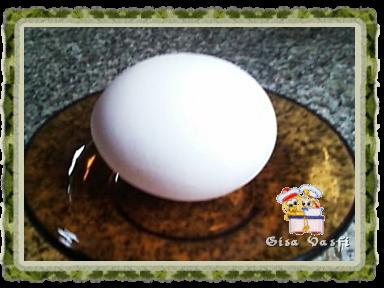 Centralizando as gemas dos ovos