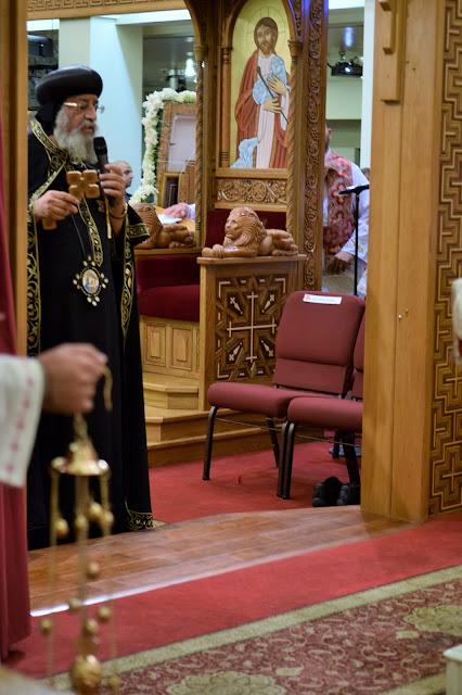 His Holiness Pope Tawadros II visit to St. Mark LA - DSC_0186.JPG