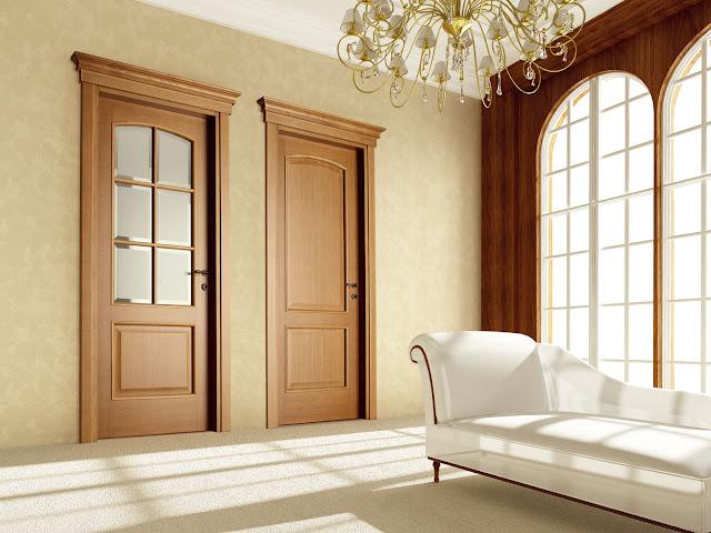 Mẫu cửa cho căn phòng nhỏ