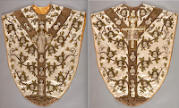 Further Embroidery of the Poor Clares of Mazamet, France: The Chasuble of L'Arbre Franciscain