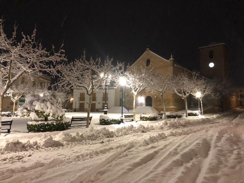En imágenes: las nevadas que ha dejado 'Gloria'