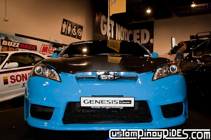 Hyundai Genesis Coupe Body Kit Designs by Atoy Customs 2012 Manila Auto Salon Custom Pinoy Rides pic21