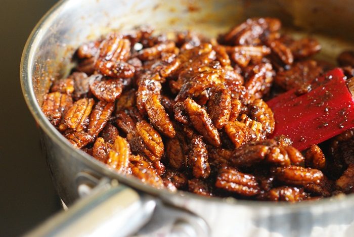 Lone Star Pecans - spicy and sweet. Perfect with a beer.