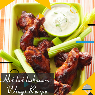 hot hot habanero wings Recipe