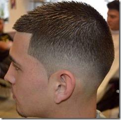 Fade Haircut Mid Fade
