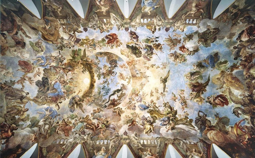 Luca Giordano - Alegoría del Toisón de Oro