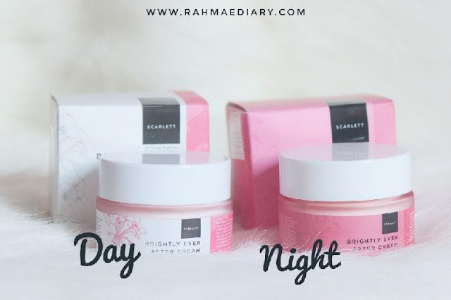 Scarlett Brightly Day & Night Cream Review