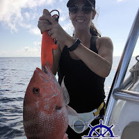 Jerri Lynn with another Red Snapper 06-25-2018