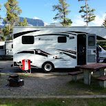 the adventurer RV in Banff, Alberta in Calgary, Alberta, Canada
