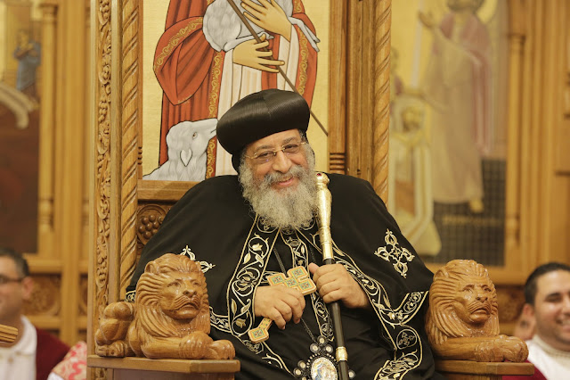 His Holiness Pope Tawadros II visit to St. Mark LA - _09A9184.JPG