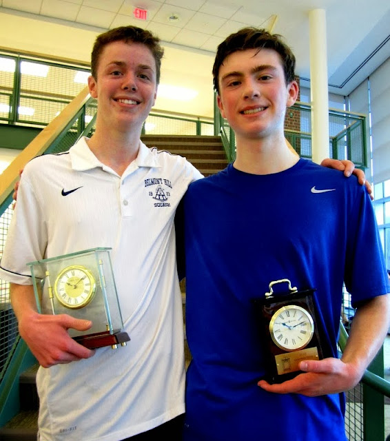 BU 19 winner Timmy Brownell, and finalist Clark Doyle