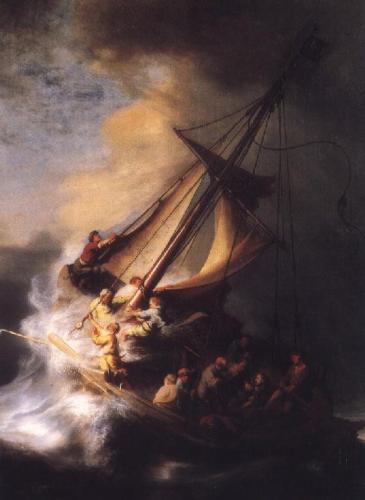 Tempesta sul mare di Galilea - Rembrandt