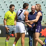 Fremantle v Geelong NAB Cup III 2013