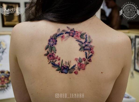 esta_aquarela_coroa_de_flores