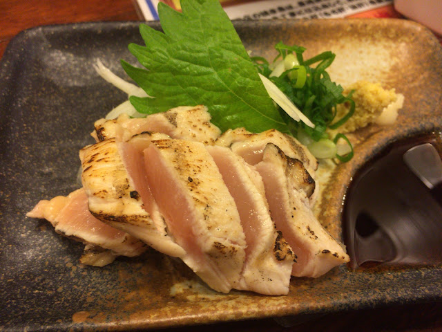 島根県松江市 やきとり 番吉 大山地鶏 胸のタタキ