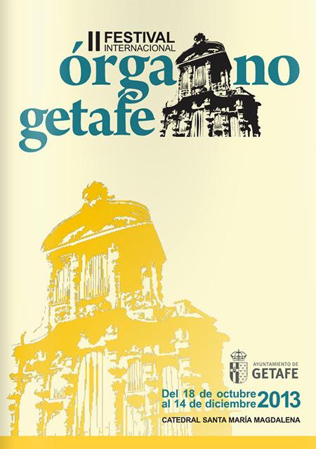 II Festival Internacional de Órgano en Getafe