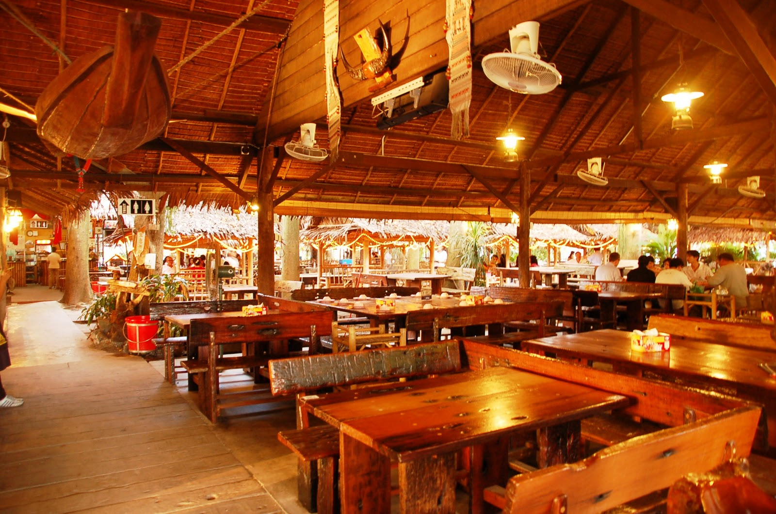 Main Dining Hall Close To The Entrance