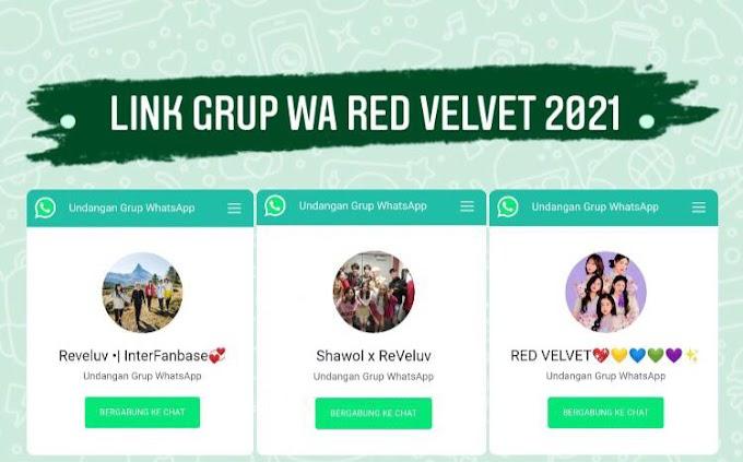 100+ Link Grup Whatsapp Red Velvet, Reveluv 2021