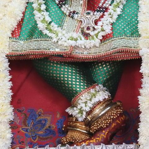 Radha Govind Devji Deity Darshan 17 Dec 2015 (4)
