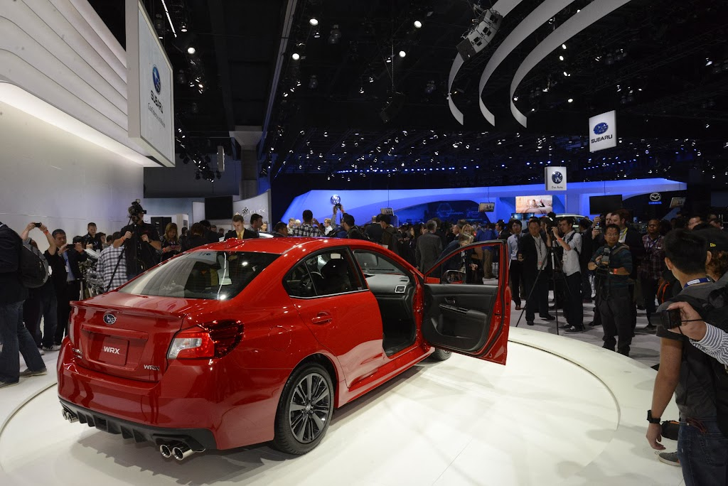 2015 Subaru WRX Los Angeles Auto Show 6