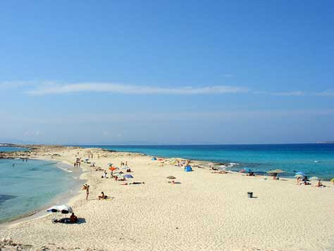 Formentera, playa paradisiaca
