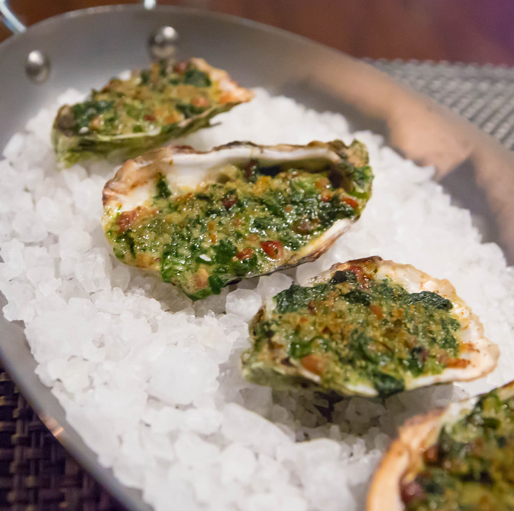photo of Wood Fired Oysters Rockefeller