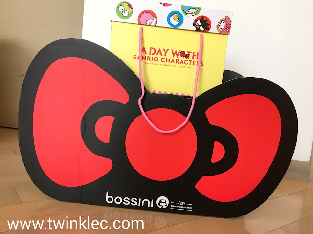 [Fashion] 興奮media pack - bossini x Sanrio - A Day with Sanrio Characters