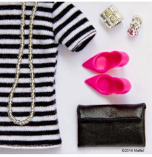 top rayas, zapatos rosas, look marinero
