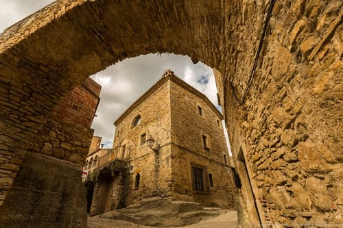 Peratallada medieval city