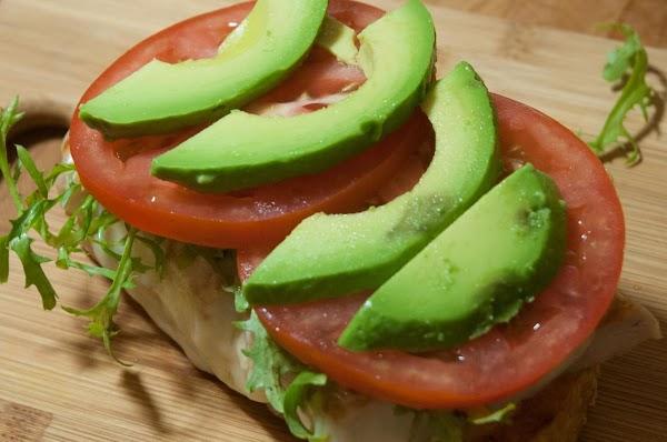 Add the avocado.