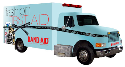 Glambulance Band-Aid By Cynthia Rowley
