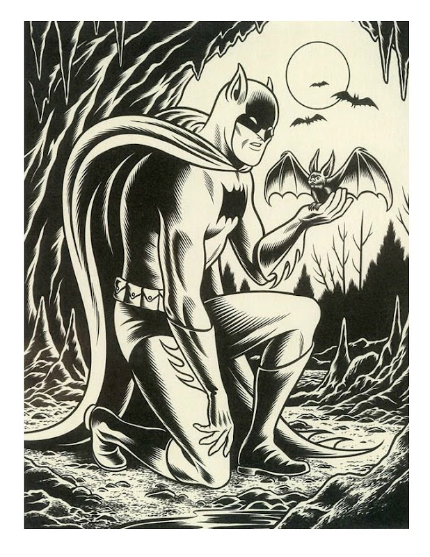 BatmanBurns Charles Burns