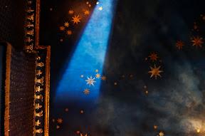Painted ceiling, Casablanca Nights, Pavillion Hotel UK